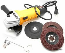 "4-1/2"" ANGLE GRINDER KiT 11,000 RPM Multi Function Sanding,Cutting & Grinding"