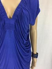 ** PORTMANS ** Size S (10) Blue  Ruched Womens Occasion Mini Dress - (A612)