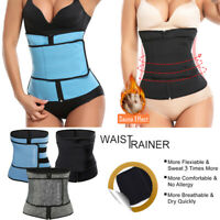 Xtreme Power Sport Shapewear Waist Trainer Sauna Belt Slim Body Shaper Girdle US