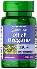 Puritan's Pride Oil of Oregano Extract 150 mg - 90 Softgels  FREE SHIPPING!