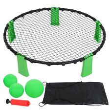 Volleyball Spike Toss Ball Game Set For Beach Outdoor Lawn Yard Tailgates