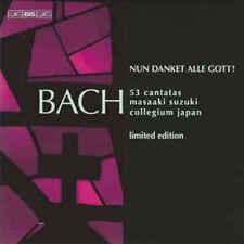 BACH - Masaaki Suzuki, Bach Collegium Japan: 53 Cantatas 15 CD SWEDISH BOX SET