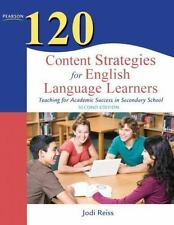Teaching Strategies: 120 Content Strategies for English Language Learners : Teac