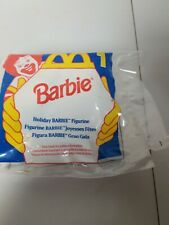 Mattel 1995 Holiday Barbie #1 In Sleigh McDonalds Happy Meal Toy Christmas