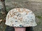 WW2 German  M38 Steel Paratrooper helmet  ET71 4751