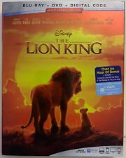 DISNEY THE LION KING LIVE ACTION BLU RAY 1 DISC ONLY + CASE SLIPCOVER NO ARTWORK