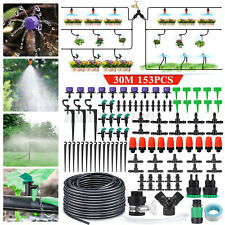 More details for  automatic diy drip irrigation system plant self watering garden hose kit