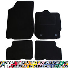 Dacia Duster MK1 2013-2017 Fully Tailored 4 Piece Car Mat Set with 2 Clips
