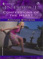 Confessions Of The Heart (Intrigue),Amanda Stevens