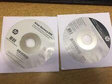 DVD Windows 7 64-Bit Pro HP + Driver Recovery EliteDesk 800 G2 ProDesk 600 G2