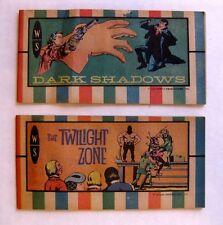 5 Mini Comic Books -- Star Trek Dark Shadow Twilight Zone and More!