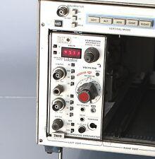 Tektronix 7A13 Comparatore Differenziale TM7000 SERIE oscilloscopio plug-in