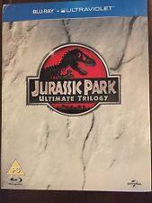 Jurassic Park movie collection Ultimate Trilogy blu ray 3 movie set