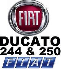 ➽➽ Fiat Ducato 250 & 244/230 instrucciones de reparación/Taller de mano libro 2 CD 's