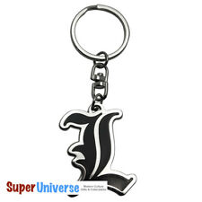 Death Note L Symbol Licensed Anime Metal Keychain