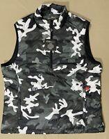 "Polo Ralph Lauren ""RLX"" Camouflage Down Puffer Packable Vest, Size M"