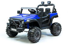 Kinder Elektro Auto Emulation Small Jeep 2-Sitzer 2x 35W 12V 7Ah 2.4G RC