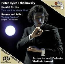 Tchaikovsky: Hamlet Op. 67a; Romeo and Juliet [Hybrid SACD], New Music