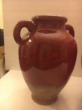 Southern Living at Home Large Tuscan Verona Red Olive Jar Vase