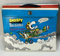 1968 Mattel Snoopy Peanuts Skediddler Liddle Kiddle Skediddle Set