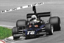 9x6 Photograph, Tom Pryce, Shadow-Cosworth DN5 , Brazilian GP Interlagos 1976
