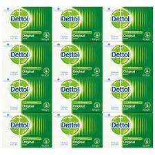 12 x Dettol Antibacterial Soap Bars Disinfectant 100g [6 Twin Packs]