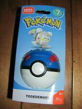 Mega Construx Bloks Pokemon TOGEDEMARU Series 7 Poke Ball 20 pcs NEW