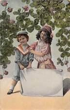 Sailor clothing boy girl enfants children shamrocks luck 1912