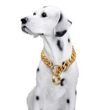 Pomerania Dog Collar Solid Stainless Steel Pet Collar Corgis Walk The Dog Collar