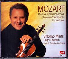 Shlomo Mintz: Mozart Violin Concerto 1 2 3 4 5 DOUBLE Sinfonia concertante 3cd
