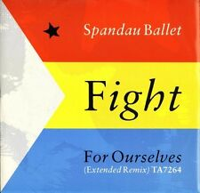 """SPANDAU BALLET fight for ourselves TA7264 uk cbs 1986 12"""" PS EX/EX"""