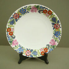 """Vintage BRIDGWOOD for HARRODS 8.75"""" Floral plate Old Anchor China Pottery"""