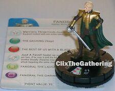 FANDRAL #011 #11 Thor: The Dark World Movie Marvel Heroclix
