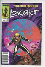 Longshot 1 - NM 1985 (9.2) $1.00 Canadian Variant 1st Longshot and Spiral
