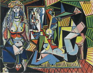 Pablo Picasso Femmes Dalger Giclee Art Paper Print Poster Reproduction