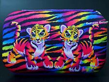 Lisa Frank Cosmetic Storage Travel Pencil Case Bag Box Rainbow Tigers Gift New