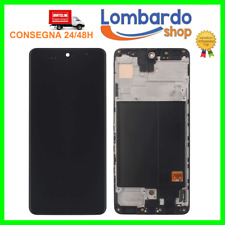 DISPLAY LCD PARI ORIGINALE SAMSUNG GALAXY A51 SM A515F TOUCH SCREEN FRAME VETRO