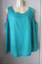 Marina Rinaldi linen top, size AUS 12-14, mint condition
