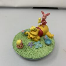 Disney Store Easter / Spring Winnie The Pooh & Piglet Easter Candle Jar Topper