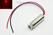 Laser rouge 650nm réglable 10mw Diode Module 12x30mm DC3V-5V