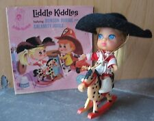 Liddle Kiddle Calamity Jiddle Complete with Book Horse Hat Boots Brush