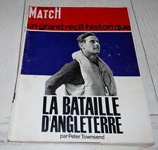 PARIS-MATCH 1966 BATAILLE D'ANGLETERRE RAF ENGLAND GUERRE  39/45 DELON  BARDOT