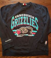 Vintage Men's Vancouver Grizzlies Mitchell And Ness Sweatshirt Size X-Large XL
