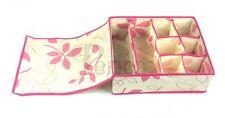 Periea Drawer Organiser, Storage Box, Wardrobe Organizer, Socks - Colleen - Pink
