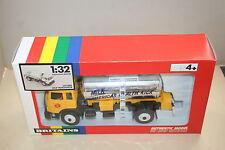 Britains 1/32 Leyland Milk Tanker Transporter Toy Truck 5559 NIB Rainbow RARE!!