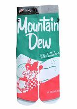 Odd Sox Men's Crew Socks Mountain Dew Shoe Size 6-13 Fun Gift