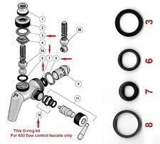 Perlick 630/650 Beer Faucet o-ring kit W/diagram, Perlick factory parts