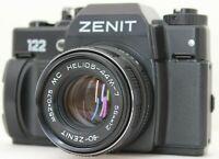 Zenit 122 SLR Film Camera M42 Anniversary 50years of Victory WW2 MC Helios 44M-7