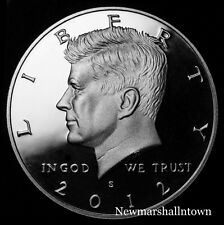 2012 S Kennedy Half Dollar ~ Silver Mint Proof ~ Deep Cameo ~ From US Proof Set
