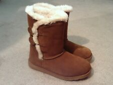 SO Fireside Chestnut Suede Mid-Calf Boots Women's size 6